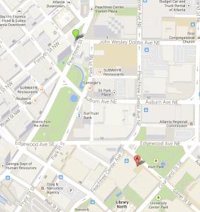 ResInn Kopleff walkmap